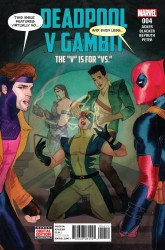 Marvel - Deadpool V Gambit #4