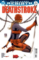 DC - Deathstroke #3 Variant