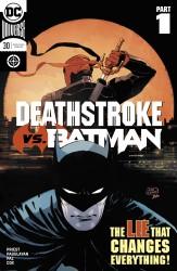 DC - Deathstroke #30 Deathstroke vs Batman