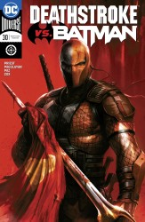 DC - Deathstroke #30 Deathstroke vs Batman Mattina Variant