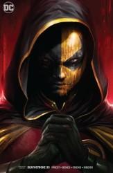 DC - Deathstroke # 33 Deathstroke vs Batman Mattina Variant