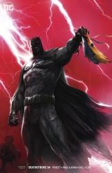 DC - Deathstroke # 34 Deathstroke vs Batman Mattina Variant