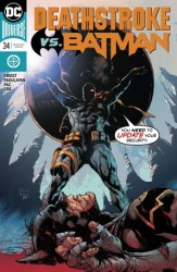 DC - Deathstroke # 34 Deathstroke vs Batman