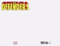 Marvel - Defenders # 1 Blank Variant