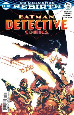Detective Comics # 936 Variant Cover