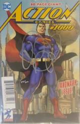 DC - DF Action Comics # 1000 Brian Michael Bendis İmzalı Sertifikalı