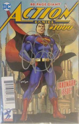 DF Action Comics # 1000 Brian Michael Bendis İmzalı Sertifikalı