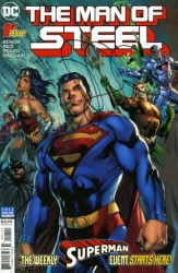 DC - DF Man Of Steel # 1 Brian Micheal Bendis İmzalı