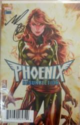 Marvel - DF Phoenix Resurrection Return Of Jean Grey # 1 Brooks Variant Mark Brooks İmzalı Sertifikali