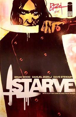 DF Starve # 1 Brian Wood İmzalı Sertifikalı