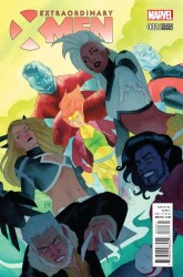 Marvel - Extraordinary X-Men # 3 1:25 Mann Variant