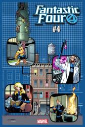 Marvel - Fantastic Four # 4 1:4 Yancy Street Variant