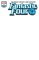 Marvel - Fantastic Four # 1 Blank Variant