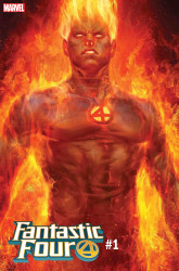 Marvel - Fantastic Four # 1 Artgerm Human Torch Variant