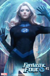 Marvel - Fantastic Four # 1 Artgerm Invisible Woman Variant