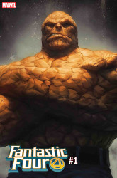 Marvel - Fantastic Four # 1 Artgerm Thing Variant