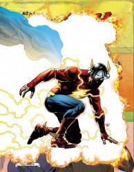DC - Flash # 22 (The Button) Lenticular 3D Cover