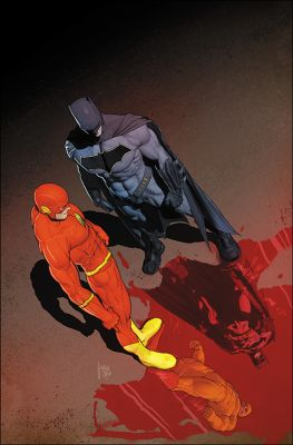 Flash # 21 (The Button) International Cover