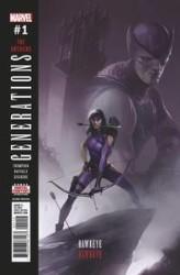 Marvel - Generations Hawkeye & Hawkeye # 1 2nd Ptg Mattina Variant