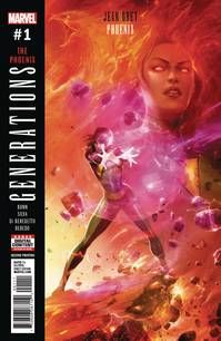 Generations Phoenix & Jean Grey # 1 2nd Ptg Mattina Variant