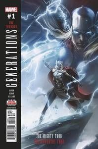 Generations Unworthy Thor - Mighty Thor # 1 2nd Ptg Mattina Variant
