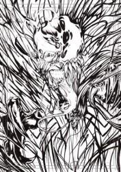 Diğer - Görkem Demir Limited Edition Holo Sketch Card #16 Venomized