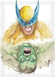 Diğer - Görkem Demir Limited Edition Holo Sketch Card #17 Wolverine Hulk