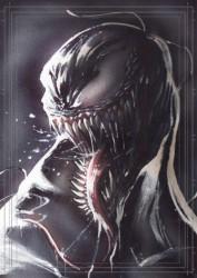 Diğer - Görkem Demir Limited Edition Holo Sketch Card #20 Venom