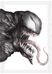 Diğer - Görkem Demir Limited Edition Holo Sketch Card #21 Venom