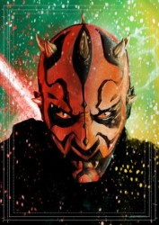 Diğer - Görkem Demir Limited Edition Holo Sketch Card #22 Darth Maul