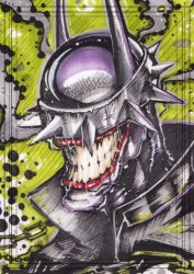 Diğer - Görkem Demir Limited Edition Holo Sketch Card #25 Batman Who Laughs