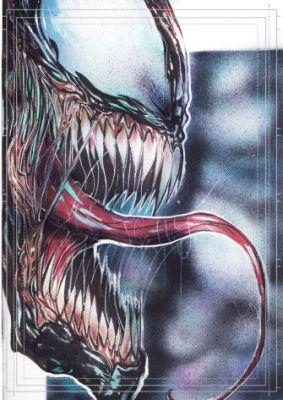 Görkem Demir Limited Edition Holo Sketch Card #27 Venom