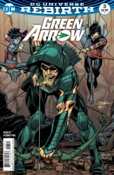 DC - Green Arrow #3 Variant