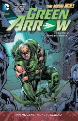 DC - Green Arrow (New 52) Vol 2 Triple Threat TPB
