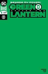 DC - Green Lantern Season 2 # 1 Green Blank Variant