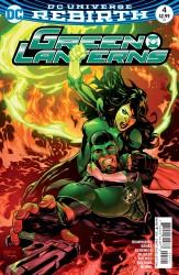 DC - Green Lanterns #4 Variant