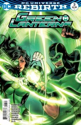 DC - Green Lanterns # 3 Variant
