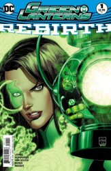 Dynamic Forces - DF Green Lanterns Rebirth # 1 Ethan Van Sciver İmzalı Sertifikalı