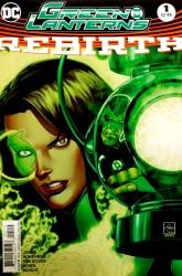 DC - Green Lanterns Rebirth #1 2nd PTG