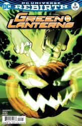 DC - Green Lanterns # 8 Variant