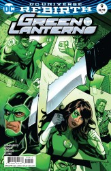 DC - Green Lanterns # 9 Variant