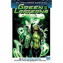 DC - Green Lanthern Vol 2 The Phantom Lantern