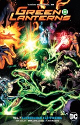 DC - Green Lantherns (Rebirth) Vol 7 Superhuman Trafficking TPB