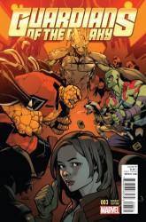 Marvel - Guardians of the Galaxy # 3 1:25 Asrar Variant