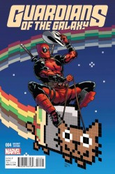 Marvel - Guardians of the Galaxy # 4 1:10 Deadpool Variant