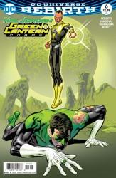 DC - Hal Jordan And The Green Lantern Corps # 6 Variant