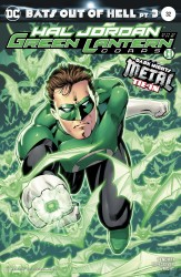 DC - Hal Jordan And The Green Lantern Corps # 32 Variant (Metal)