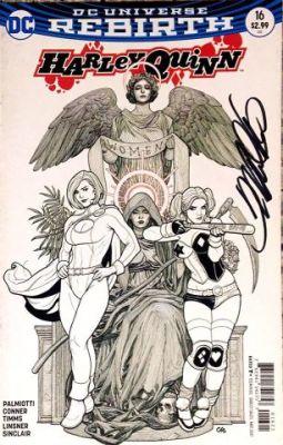Harley Quinn # 16 Frank Cho Variant Frank Cho İmzalı Sertifikalı
