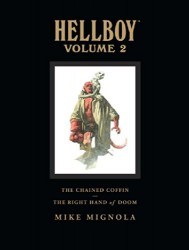 Dark Horse - Hellboy Library Edition Vol 2 The Chained Coffin, The Right Hand of Doom and Others HC