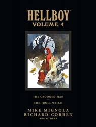 Dark Horse - Hellboy Library Edition Vol 4 The Crooked Man and The Troll Witch HC